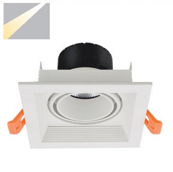 Đèn Led âm trần vuông 12W ELV801F