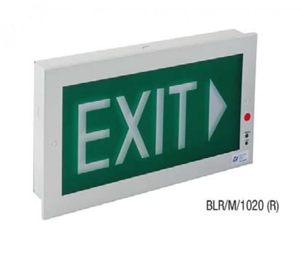 Đèn Thoát Hiểm Exit 1 Mặt MAXSPID BLR/M/1020