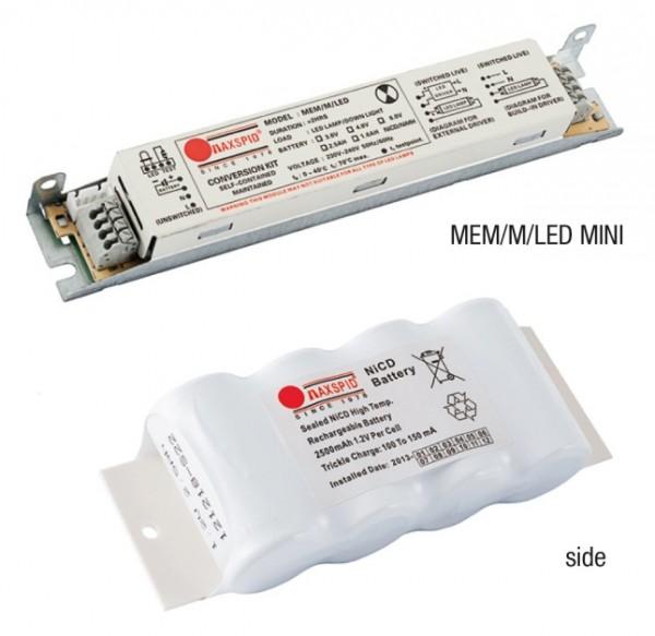 Bộ Pin Sạc Cho Bóng Led T5 và T8 Ra Điện Áp AC MAXSPID MEM/M/LED MINI