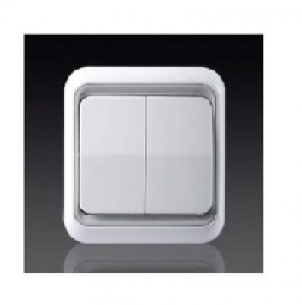 Công tắc đôi một chiều có đèn Led Simon 60398LED-50