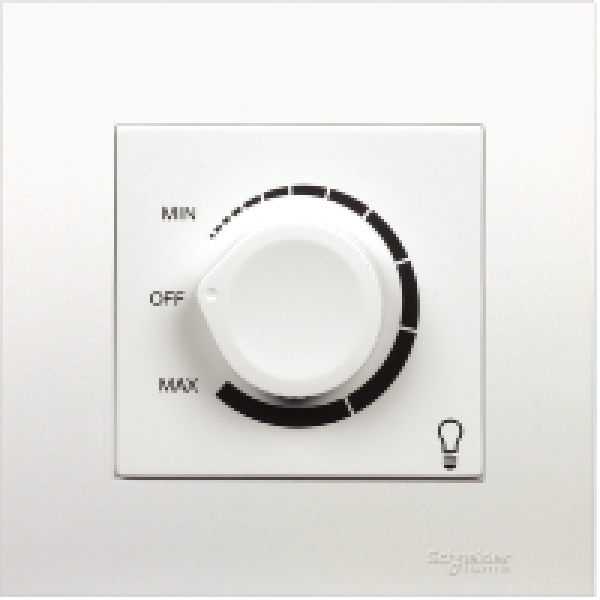 Dimmer điều chỉnh ánh sáng đèn 400W KB31RD400_WE