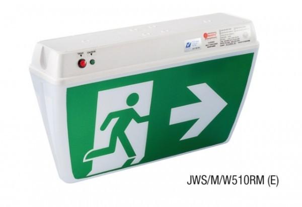 Đèn Thoát Hiểm Chỉ Dẫn 2 Mặt MAXSPID JWS/M/W510RM (E/W)