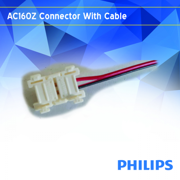 AC160Z connector with leader cable