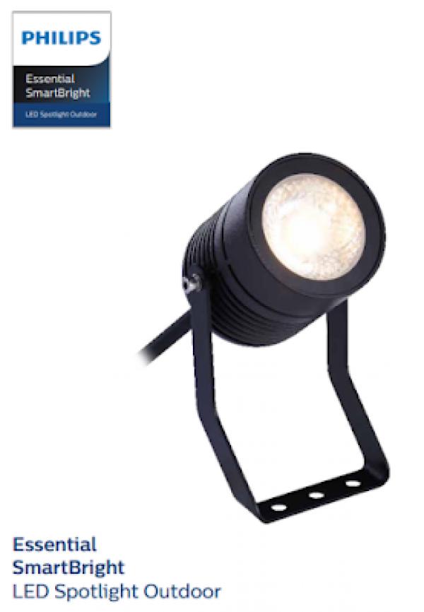 Đèn chiếu điểm Essential SmartBright  Spotlight- BGP 150 LED 520/WW 8W 20D GM