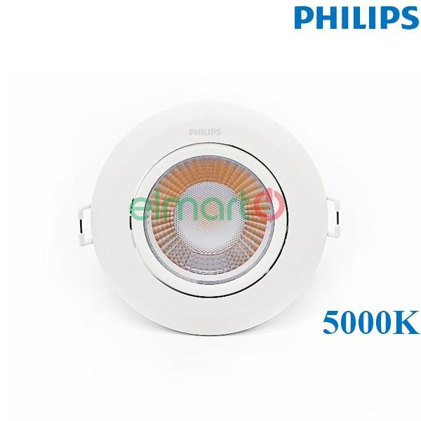 Đèn LED âm trần chiếu điểm trong nhà RS100B LED5 850 6W 220-240V D75 WB