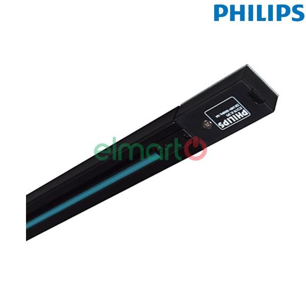 Thanh track lắp đèn chiếu điểm RCS170 1C L2000 BK, màu đen