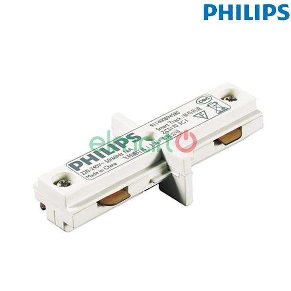 Đầu nối thanh track lắp đèn chiếu điểm ZCS170 1C ICP WH, màu trắng