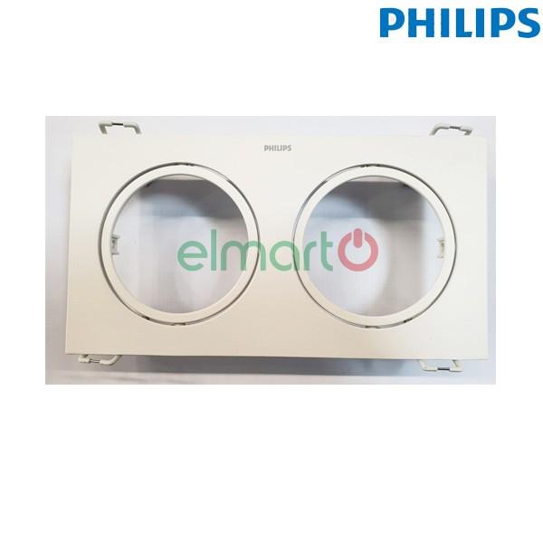 Phụ kiện mặt đôi GD100B ACCESSORY LED5×2 D75 WH (hộp 15c)