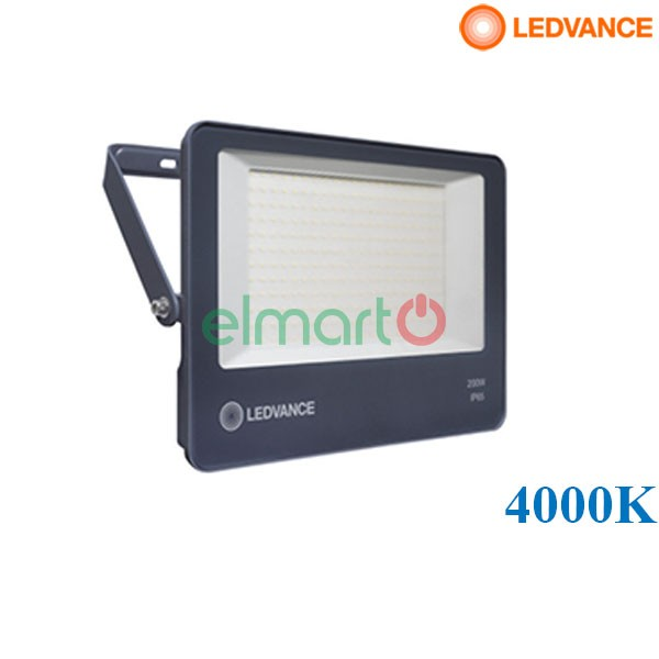 Đèn Pha Led Eco LDECO FL 200W 840 GY  FS1          LEDV