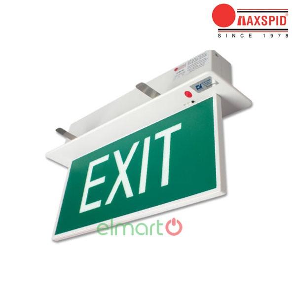 Đèn thoát hiểm Exit Maxspid - Slimline (Recessed)