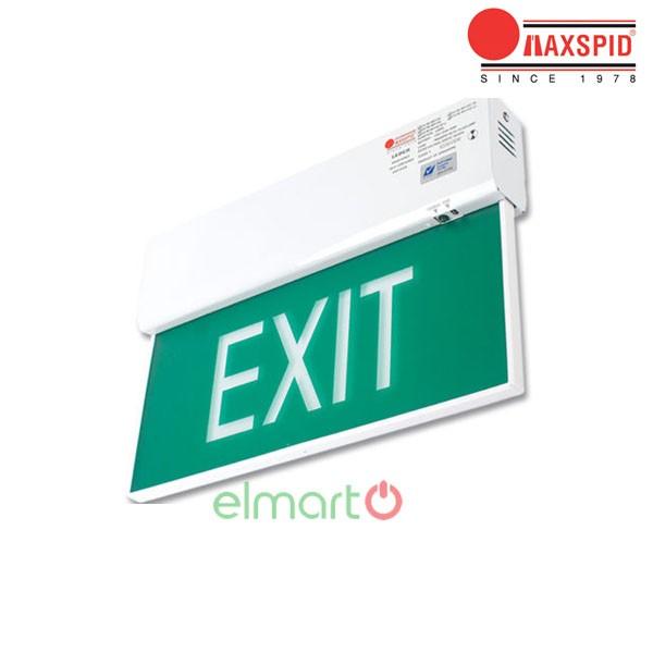 Đèn thoát hiểm Exit Maxspid - Leder (Surface)