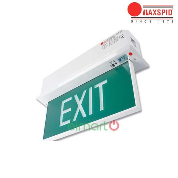 Đèn thoát hiểm Exit Maxspid - Leder (Recessed)
