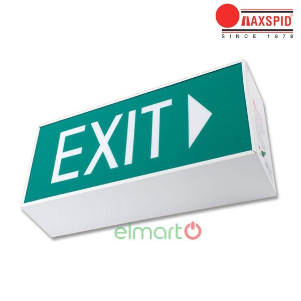 Đèn thoát hiểm Exit Maxspid - Boxster BHD