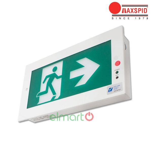 Đèn thoát hiểm Exit Maxspid - Boxster Recess